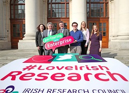 Minister of State for Training, Skills, Innovation, Research and Development, John Halligan TD, recently announced a €4.3 million investment in the Irish Research Council's Enterprise Partnership Scheme