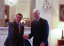 Maynooth researcher receives France's highest academic honour