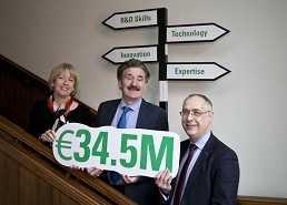 Minister Halligan announces €34.5M in funding for the Technology Transfer Strengthening Initiative