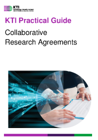 KTI Practical Guide to Collaborative Research Agreements front page preview