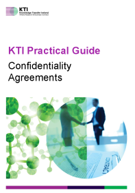 KTI Practical Guide to Confidentiality Agreements front page preview