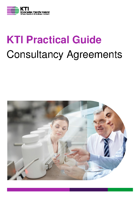 KTI Practical Guide to Consultancy Agreements front page preview