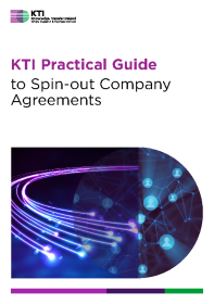 KTI Practical Guide to Spin-out Company Agreements front page preview