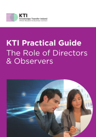 KTI Practical Guide to the Role of Directors & Observers  front page preview