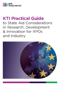 Practical Guide to State Aid Considerations in Research, Development and Innovation for RPOs and Industry front page preview
