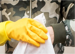 NUI Galway Spin-Out Aquila and Irish Defence Forces develop novel decontamination wipe to prevent spread of COVID-19