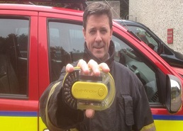 Technology enabling firefighters to retrace steps in a crisis