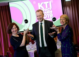 "Winners of Knowledge Transfer Ireland ""Impact Awards"" 2019 announced"