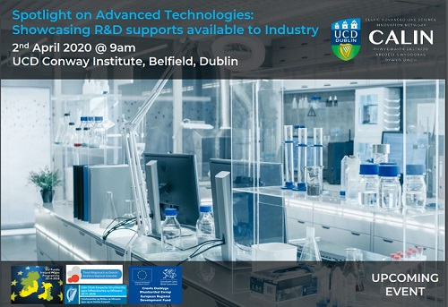 Spotlight on Advanced Technologies: Showcasing R&D supports available to Industry