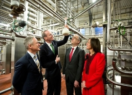 Launch of dairy processing technology centre